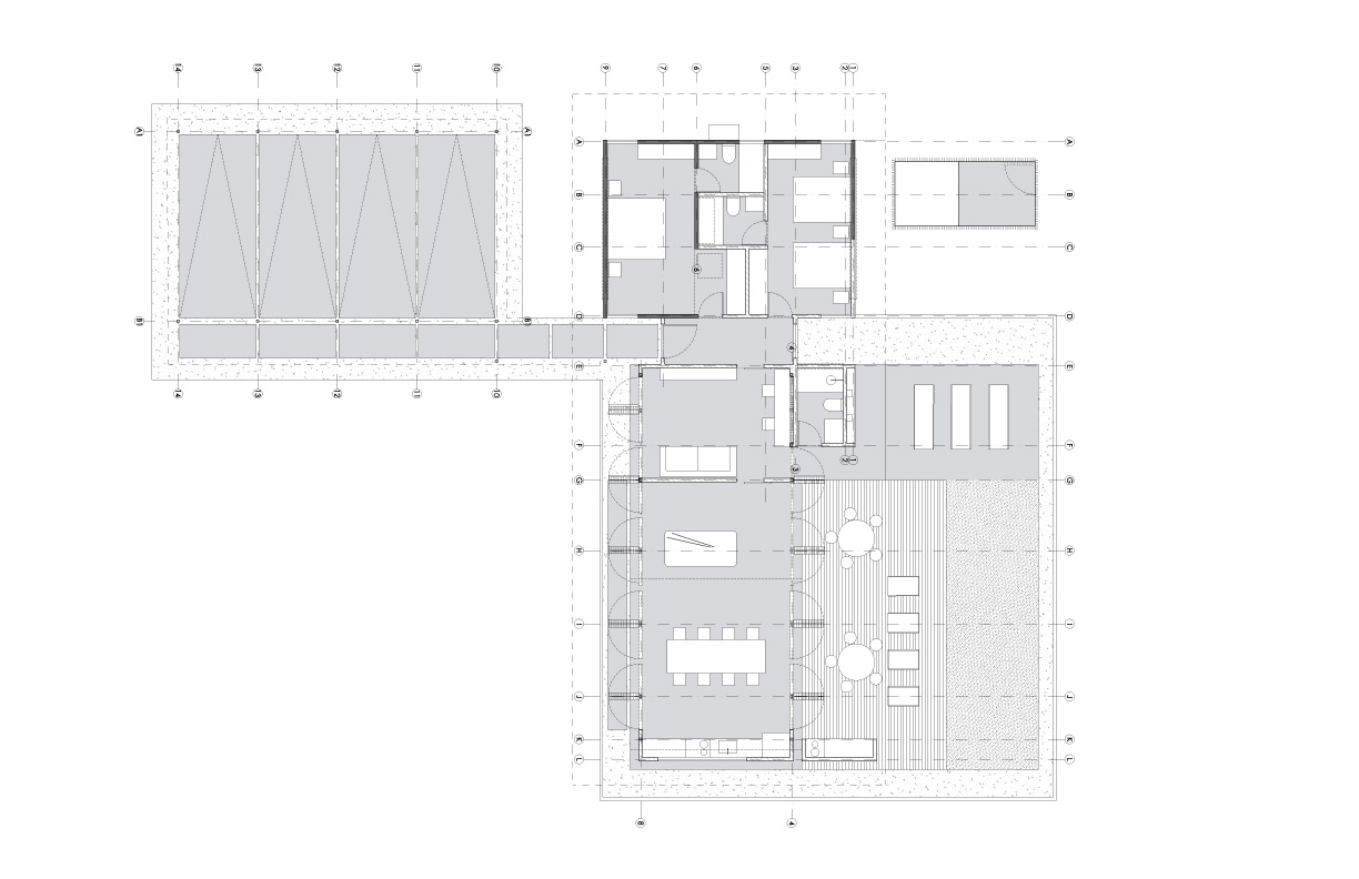 MP House Architectural Blueprint Designs for Construction